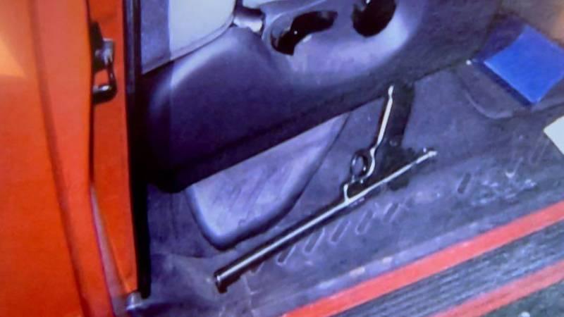 Murder weapon in Esch's pickup.