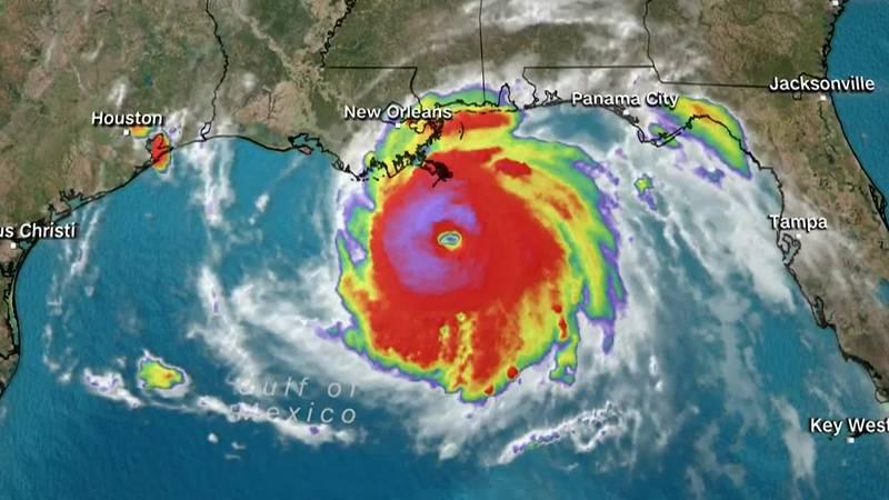 Ida is poised to hit the Louisiana coast as a Category 4 hurricane.