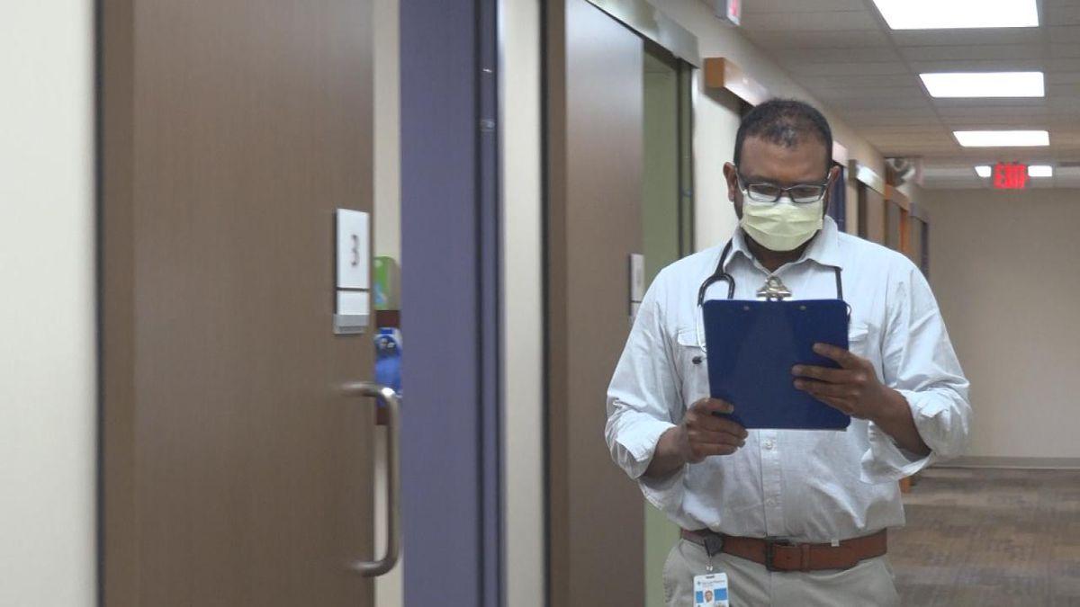 Great Plains Health Pediatrician Soogandaren Naidoo says studies have shown, overall, Pfizer...