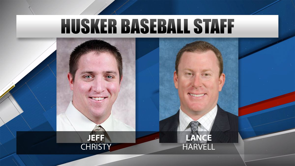 Jeff Christy will serve as the pitching coach for the Huskers, while Lance Harvell will be the hitting coach and recruiting coordinator.