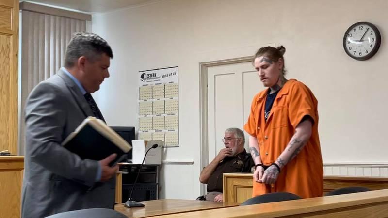 Maxwell Allen, sentencing in Frontier County District Court