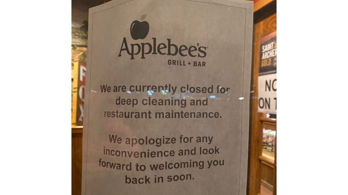 Applebee's in North Platte has closed out of an abundance of caution. An employee, being tested...