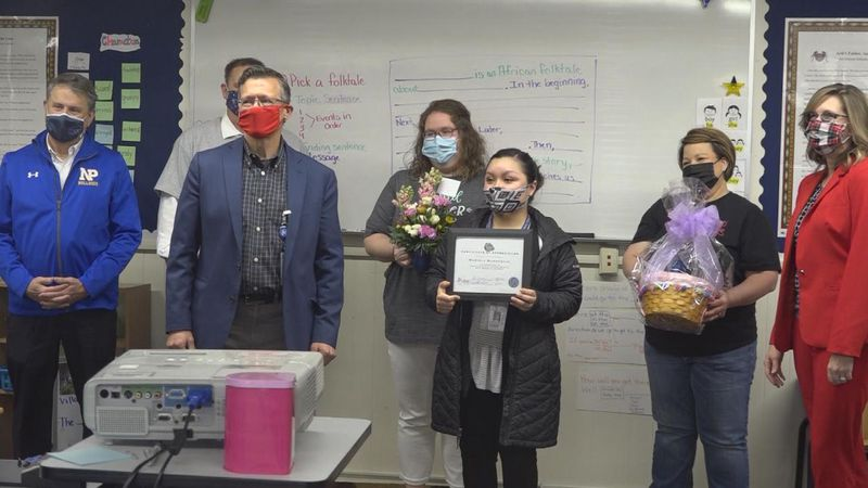 ELL para Mariela Marroquin is named Staff Person of the Month by NPPS Foundation.