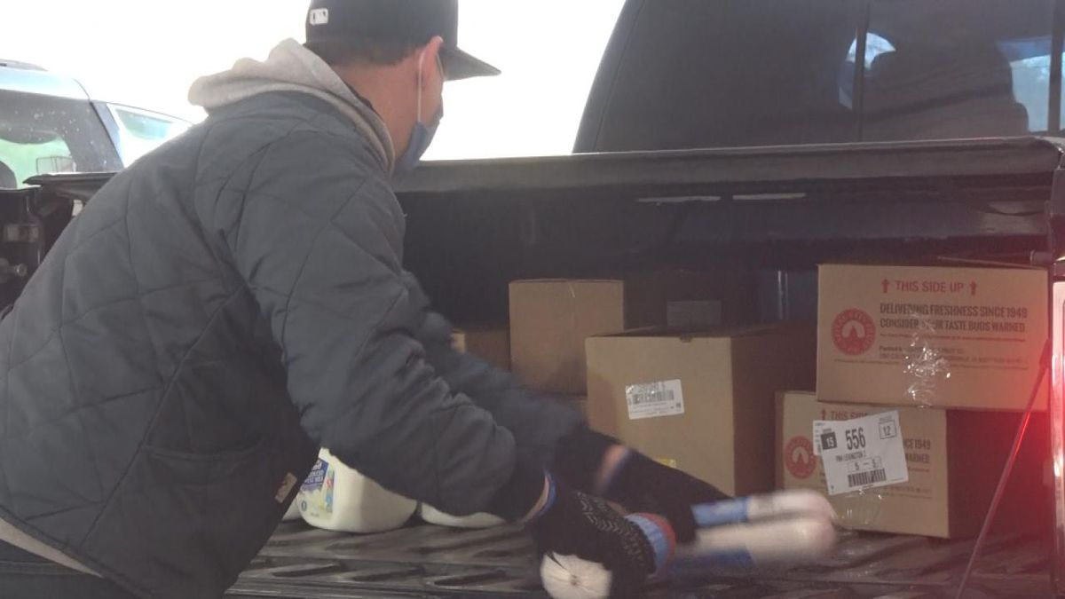 Volunteers in Lexington are in their 44th week helping families through the food insecurity...