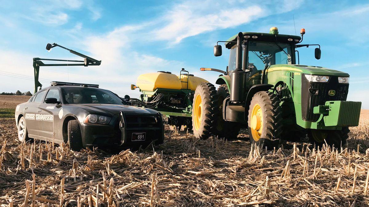 Nebraska's planting season is underway, and the Nebraska State Patrol advises all motorists to...
