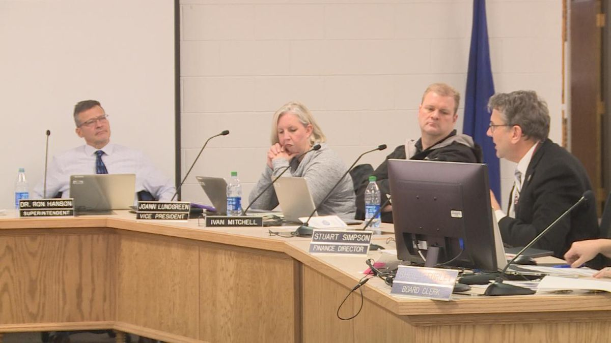 A meeting was held to discuss taxes for school safety (SOURCE: Kaylie Crowe KNOP-TV)