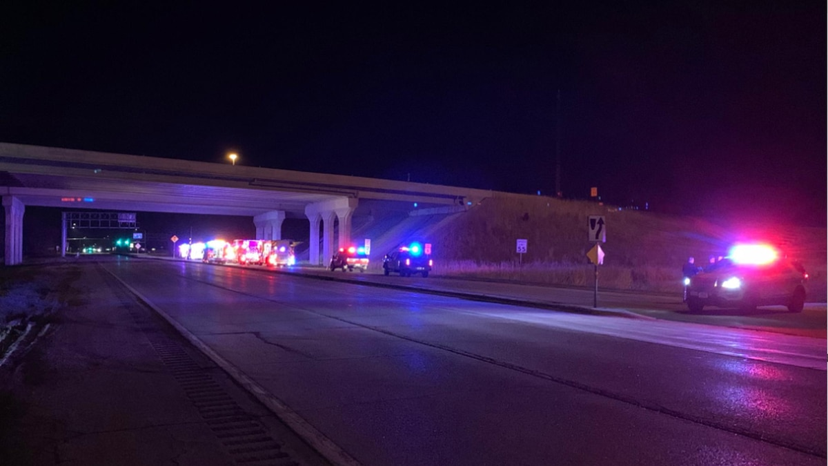 A pursuit ended with a single-vehicle crash on Highway 6 under the I-80 bridge late Saturday night.