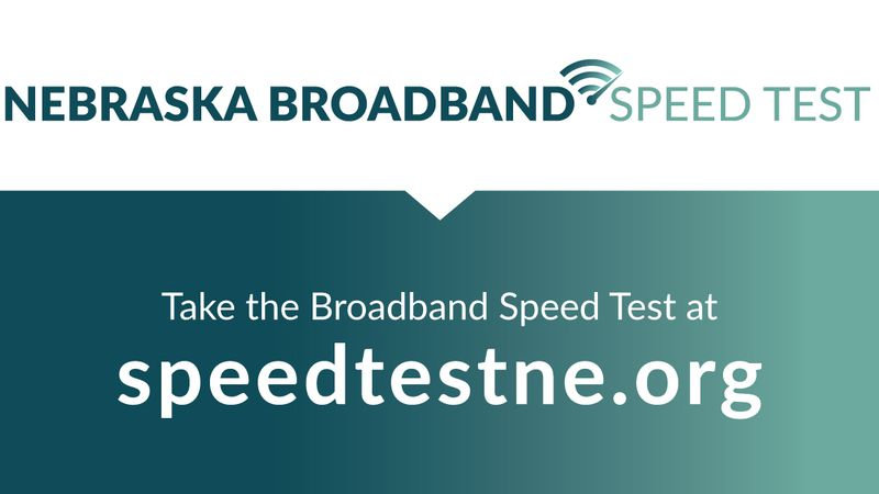 Nebraska Broadband Speed Test