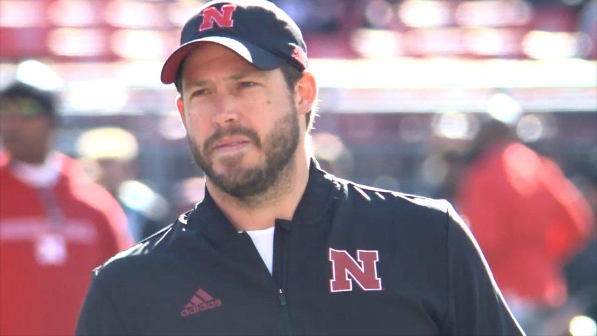 Erik Chinander is the defensive coordinator at the University of Nebraska.