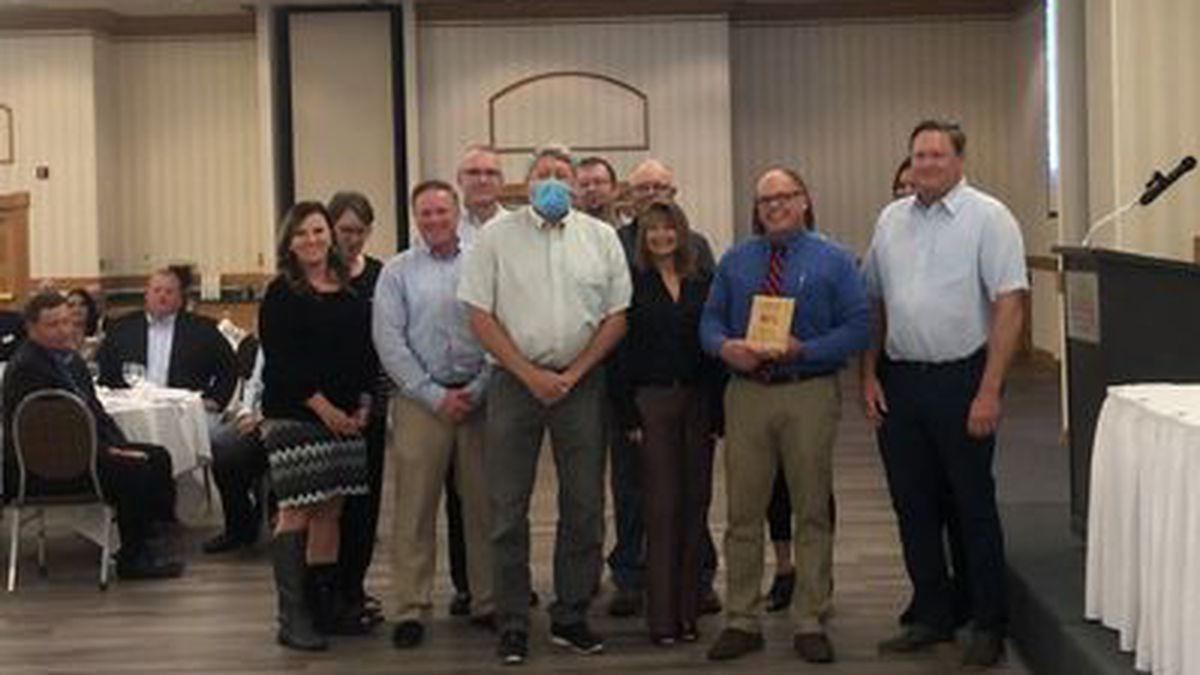 Wilkinson Development awarded Business of the Year at North Platte Chamber & Development annual event.