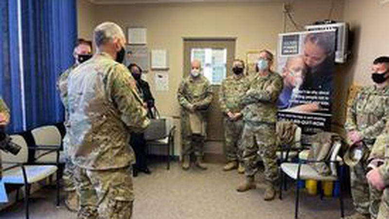 Maj Gen Daryl Bohac tours WCDHD