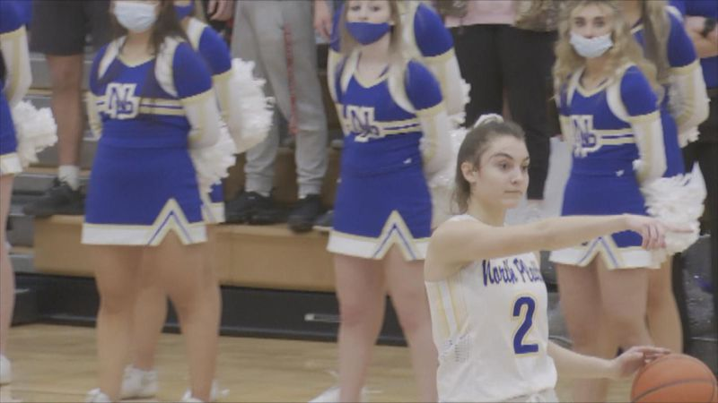 The North Platte Senior leading the charge for the Lady Bulldogs en route to an A-6 District...