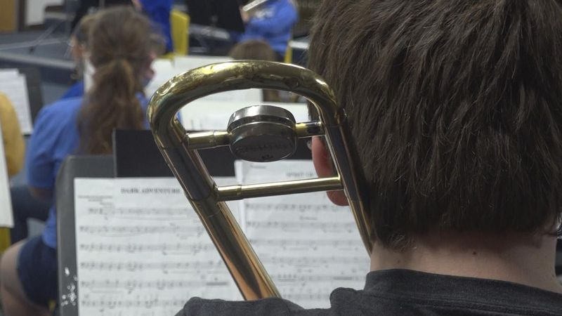 North Platte Public Schools music department receives donation from former music teacher.