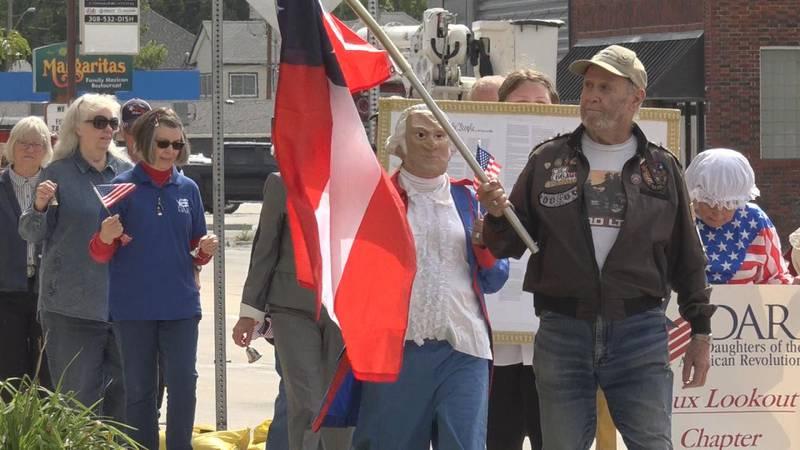 North Platte kicks of Constitution Week Friday.