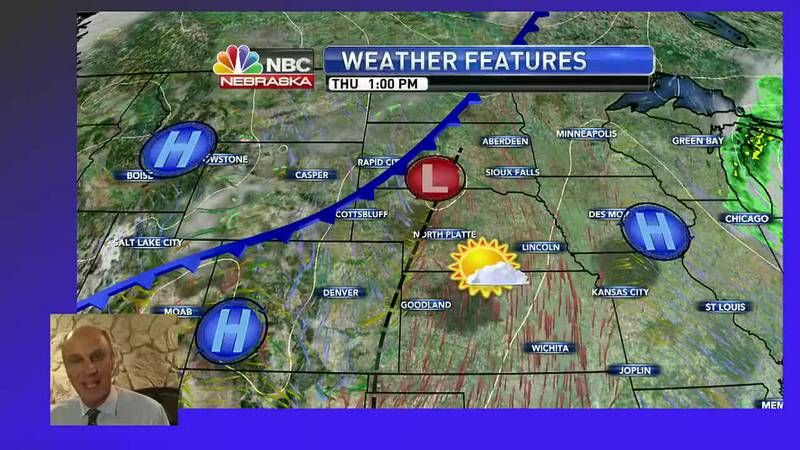 Sunshine and warmer weather expected into Thursday.